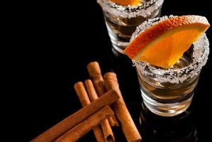 goldener Tequila
