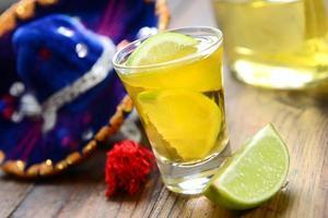 Tequila schießen foto