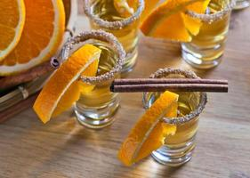 Tequila mit Orange