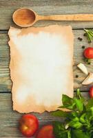 italienisches Rezept foto
