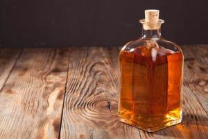 Flasche Brandy foto