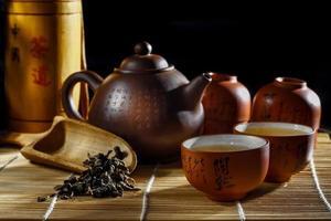 Kunst des Tees foto