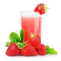 Erdbeersaft foto