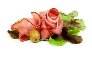 Jamon und Gemüse