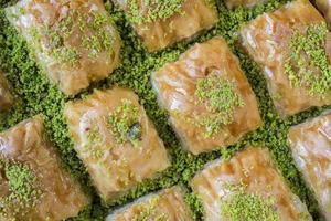 Baklava aus der türkischen Küche foto