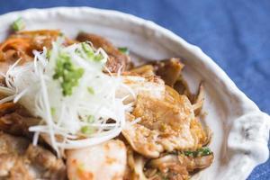Buta Kimchi Essen foto