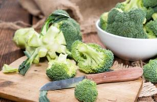 frischer Brokkoli foto