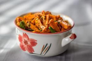 eingelegte Karotten foto