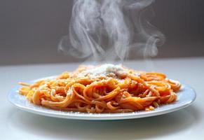 italienische Spaghetti foto