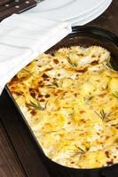 Kartoffelgratin foto