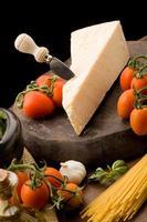 Zutaten für Nudeln mit Tomatensauce