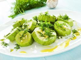 gedämpfte Zucchini foto