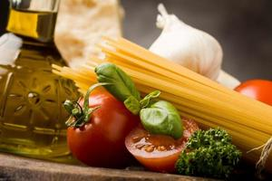 Zutaten für italienische Pasta