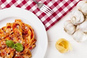 Pasta Tagiatelle mit Tomate