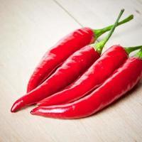 rote Chilischoten foto