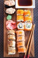 Sushi Rollen foto