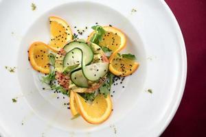 Thunfisch-Tartar. foto