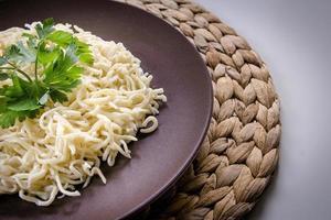 türkische Pasta. foto