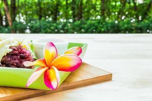 traditionelles thailändisches Essen / thailändisches Essen foto