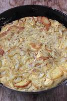 spanische Tortilla. foto
