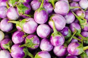 Auberginengemüse Hintergrund