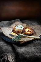 Kartoffelschalen foto