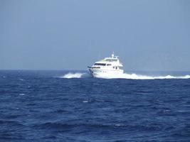 schnelle Yacht foto