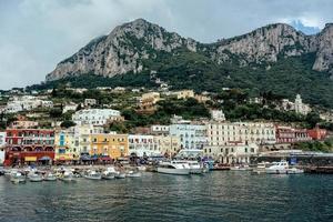 Stadt von Capri foto