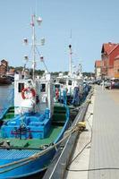 Fischereifahrzeuge foto