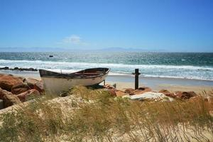 kleines Fischerboot foto