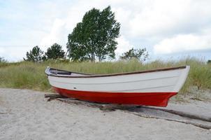 altes Fischerboot foto