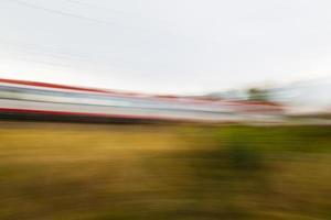 Schneller Zug foto