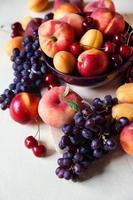 verschiedene Früchte foto