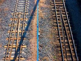 Eisenbahnhintergrund. foto