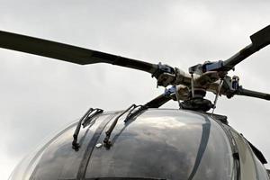 Alter Hubschrauber foto