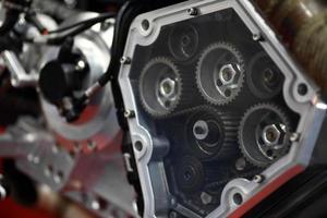 Motorradmotor foto