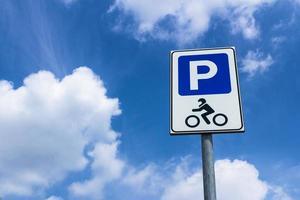 Parken von Motorrädern