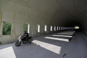 Motorradfahrer foto