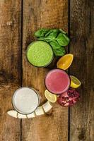 gesunder Smoothie - sauber essen foto