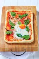 Pizza alla Bismarck foto
