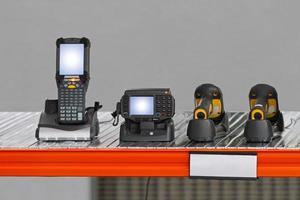 Handheld-Barcode-Scanner foto