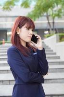 Geschäftsfrau foto