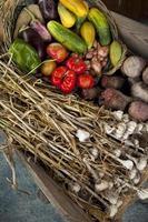 Gemüse und Knoblauch foto