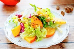 leichter frischer Salat foto