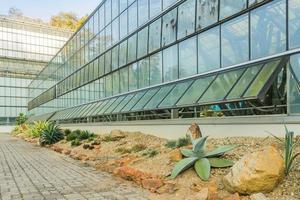 Gewächshaus für den Anbau tropischer Pflanzen. foto