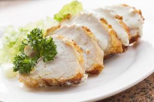 Hühner cordon bleu foto