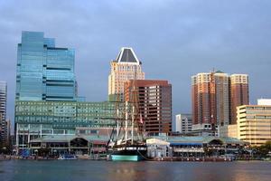 Baltimore auf dem Wasser foto