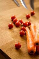 Gemüse Hintergrund foto