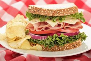 Sandwich Perfektion foto