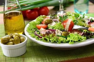 grüner Salat foto